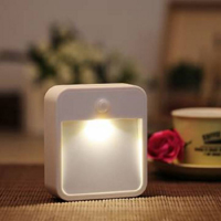 Motion Sensor Activated Battery Operated LED Night Light