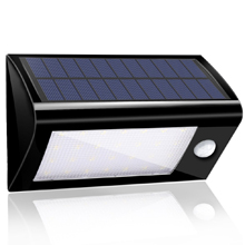 28 LED Super Bright Solar Powered Wireless Outdoor PIR Motion Sensor Waterproof Garden Lamp